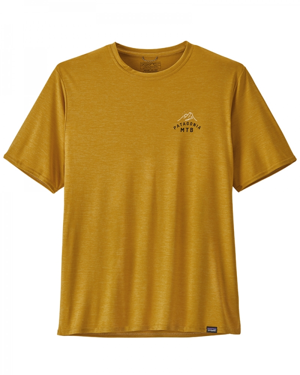 Patagonia Capilene Cool Daily Graphic T-Shirt (mtb crest/hawk gold x-dye)