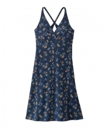 Patagonia W Amber Dawn Dress (quito multi/tidepool blue)