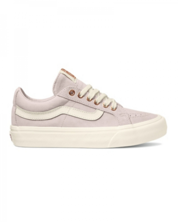 Vans Sk8-Low Reissue SF (metallic stitch/hushed violet/marshmallow)