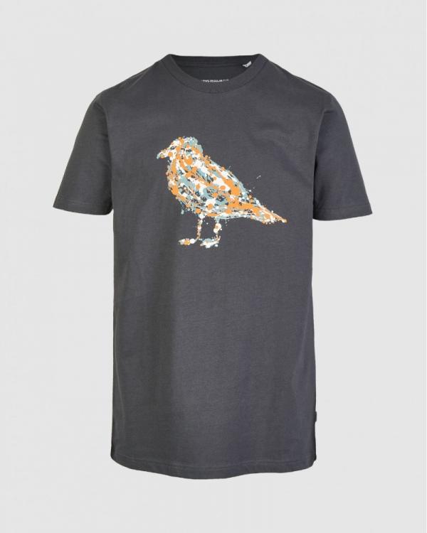 Cleptomanicx Jack Gullock T-Shirt (blue graphite)