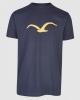 Cleptomanicx Möwe T-Shirt (decadent chocolate)