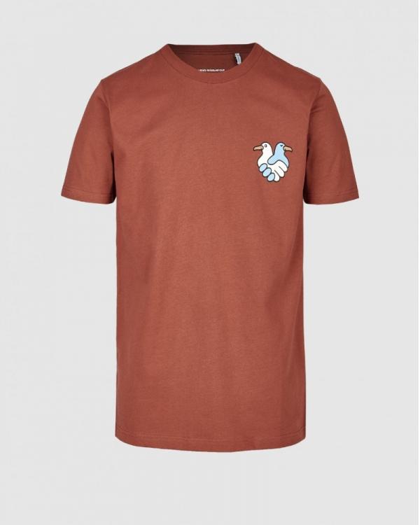 Cleptomanicx Trust T-Shirt (rosewood)