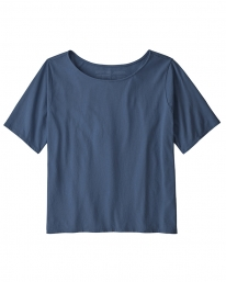 Patagonia W Cotton In Conversion T-Shirt (tidepool blue)