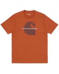 Carhartt WIP Wave C T-Shirt (copperton)