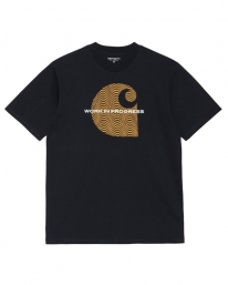 Carhartt WIP Wave C T-Shirt (dark navy)