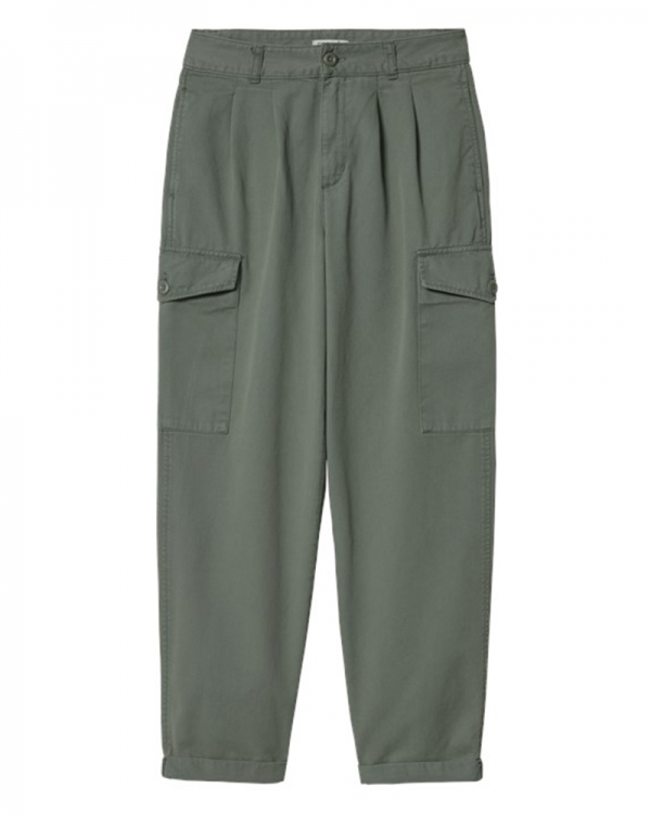 Carhartt WIP W Collins Pant (thyme garment dyed)