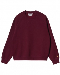 Carhartt WIP W Chase Sweater (jam/gold)