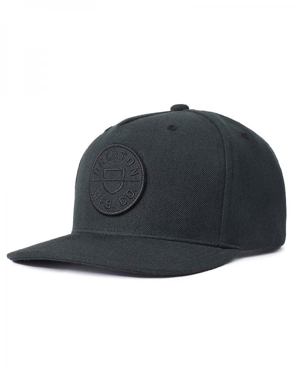 Brixton Crest C MP Cap (pigment black)