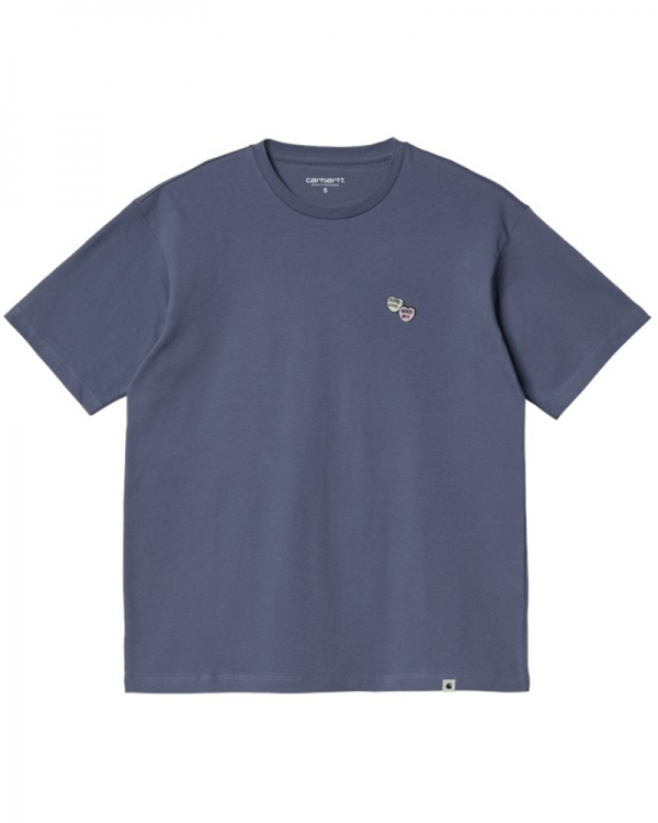 Carhartt WIP W Sugarhearts T-Shirt (cold viola)