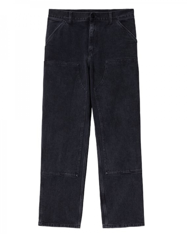 Carhartt WIP Double Knee Pant (black aged canvas)