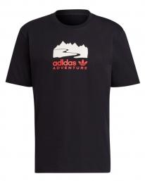 Adidas Logo T-Shirt (black/core pink)