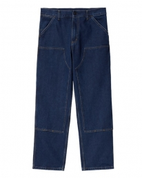Carhartt WIP Double Knee Pant (blue stone washed)