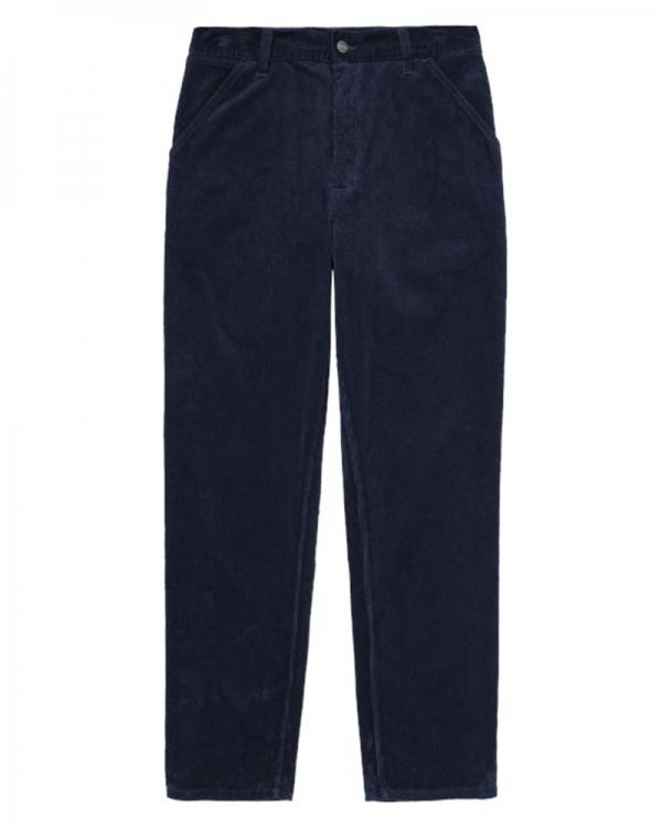 Carhartt WIP Simple Cord Pant (dark navy rinsed)