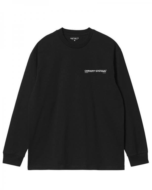 Carhartt WIP Pyramid Longsleeve (black/white)