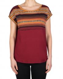 Iriedaily Vinta Block T-Shirt (bordeaux)
