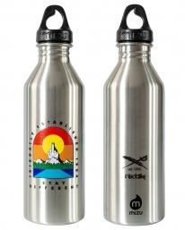 Iriedaily X Mizu Stonefinger M8 Bottle (silvergrey)