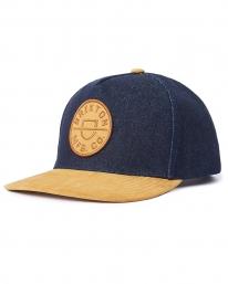 Brixton Crest C MP Cap (denim/caramel suede)