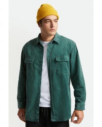 Brixton Bowery Relaxed X Flannel Hemd (silver pine)