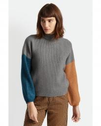 Brixton W Burning Up Strick Sweater (heather grey)