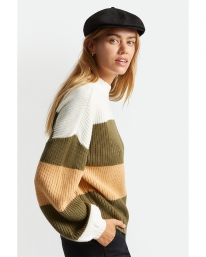 Brixton W Madero Strick Sweater (military olive)