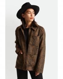 Brixton W Survey Chore Coat (leopard)