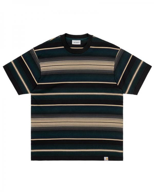Carhartt WIP Tuscon T-Shirt (tuscon stripe/frasier)