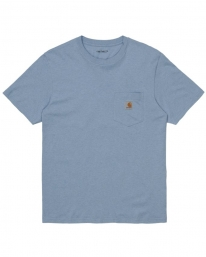 Carhartt WIP Pocket T-Shirt (icesheet heather)