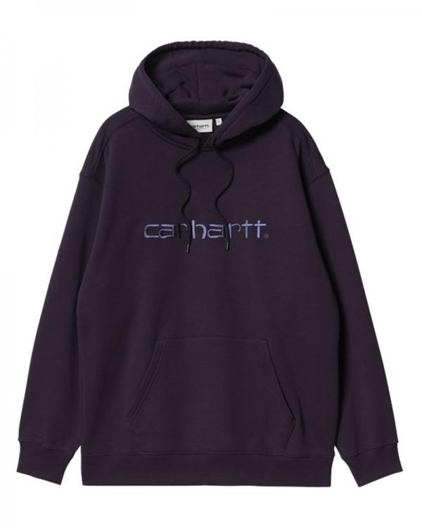 Carhartt WIP W Sweat Hoodie (dark iris/cold viola)
