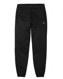 Carhartt WIP Chase Sweat Pant (black/gold)