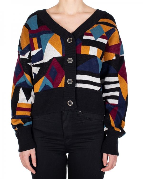 Iriedaily City Knit Jacket (cara black)