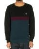 Iriedaily Court Stripe Knit (dark orion)