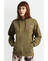 Brixton W Parsons Hoodie (military olive)