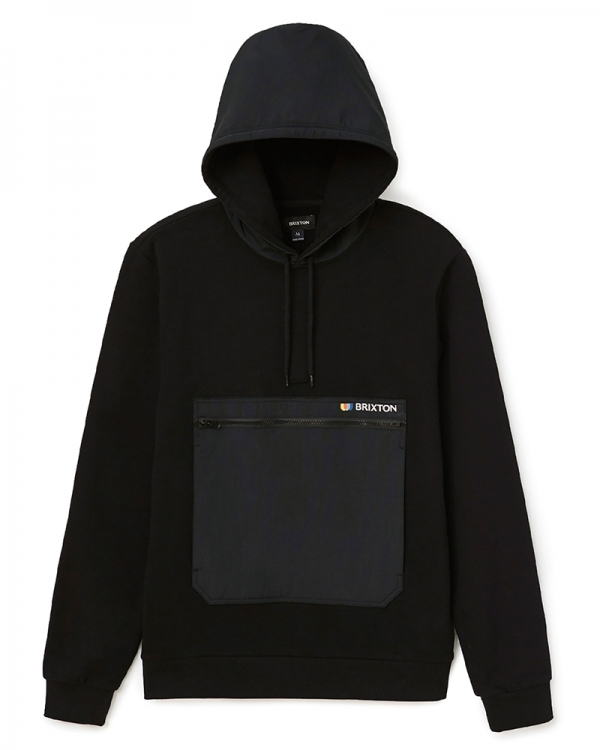 Brixton Alton Line X Hoodie (black)