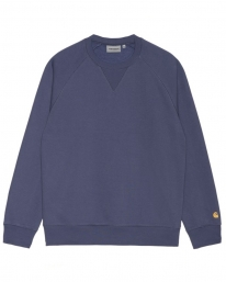 Carhartt WIP Chase Sweater (cold viola/gold)