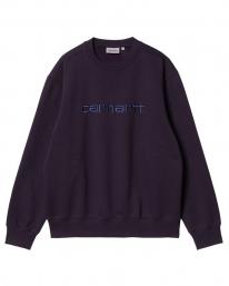 Carhartt WIP Sweat Sweater (dark iris/cold viola)