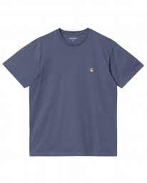 Carhartt WIP Chase T-Shirt (cold viola/gold)