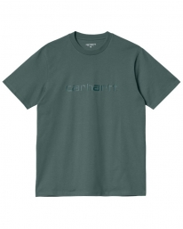 Carhartt WIP Script T-Shirt (eucalyptus/frasier)