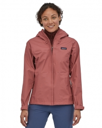 Patagonia W Torrentshell 3L Jacket (rosehip)