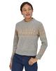 Patagonia W Recycled Wool Sweater (sea song/salt grey)