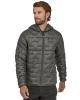 Patagonia Micro Puff Hoodie Jacket (forge grey)