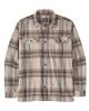 Patagonia Organic Cotton Midweight Fjord Flannel Hemd (edge/nautilus tan)