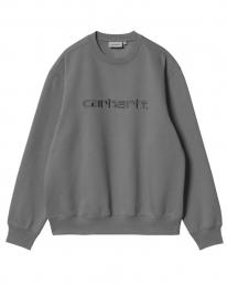 Carhartt WIP Sweat Sweater (shiver/blacksmith)