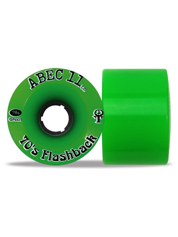 Abec 11 Flashbacks 70mm 81a (grün) 4er Satz