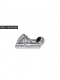 Randal R-II 180mm 42° Baseplate (silver)