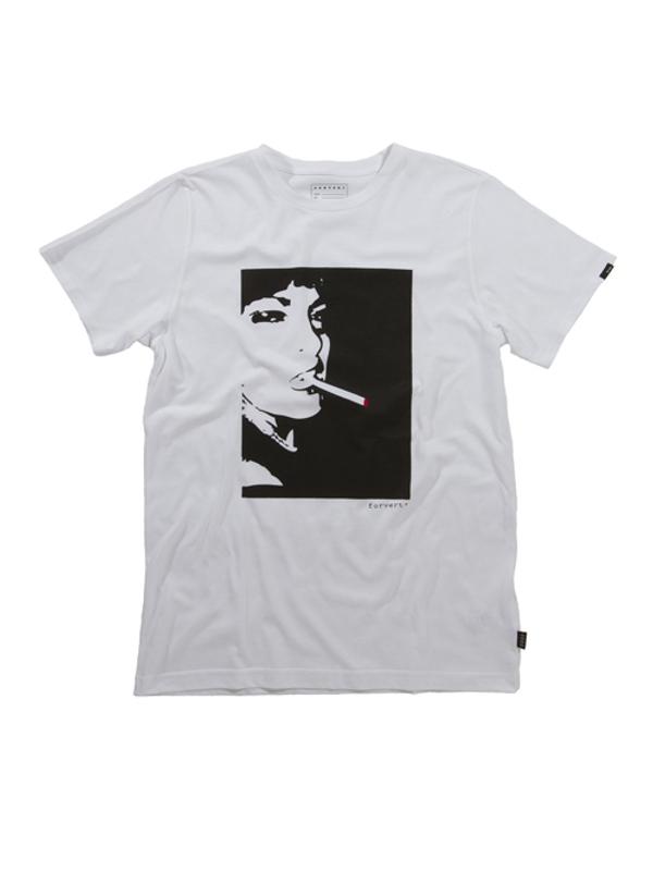 Forvert Easy Leasing T-Shirt (white)