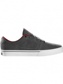 ES Square Two Fusion Shoe (grey/white/burgundy)