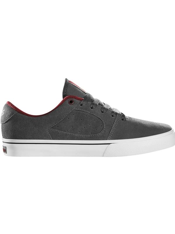 ES Square Two Fusion Shoe (grey/white/burgundy)