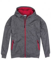 Cleptomanicx Burner Bonded Winter Jacke (melange gray)