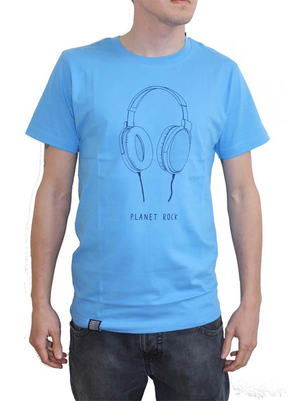 Wemoto Planet Rock T-Shirt (azure)