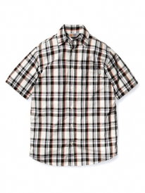 Carhartt Baron Kurzarmhemd (black checked)